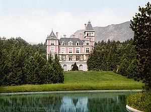 Villa Wartholz -  Villa Wartholz 1900