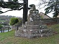 Remains of church cross, Staunton - geograph.org.uk - 617879.jpg