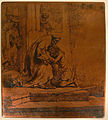 Rembrandt - Return of the Prodigal Son, 1636 - copperplate (B91).JPG