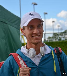 Renzo Olivo Argentine tennis player