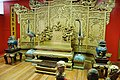Replica of the Emperor Qins throne on display at Forbidden Gardens in Katy, TX.jpg