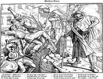 Alfred Rethel - Dance of Death, 1848