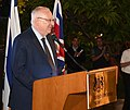 Reuven Rivlin at the ceremony for the award of the 2017 Gola Award, October 2017 (4662).jpg