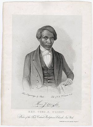Theodore S. Wright - Rev. Theodore Sedgwick Wright