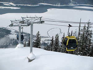 English: Revelstoke Mountain Resort, Revelstok...