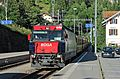 RhB Ge 4-4 III, Albula line, railway station Filisur Switzerland.jpg
