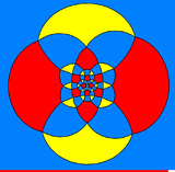 Rhombicosidodecahedron stereographic projection square.png