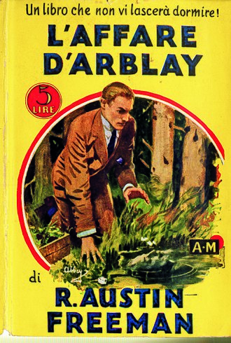 Dr. Thorndyke - Cover of the Italian translation of The D'Arblay Mystery