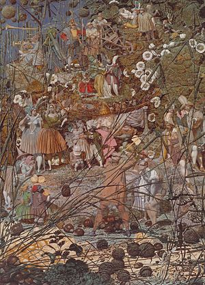 Richard Dadd - The Fairy Feller's Master-Strok...