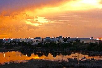 RiverTown Crossings - RiverTown Crossings at sunset.