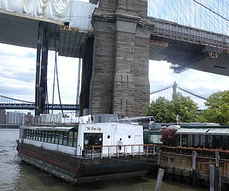 Floating restaurant - Barge restaurant in Brooklyn, New York