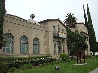 Riverside Art Museum - Built 1929, originally the YWCA