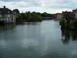 Aube (river) River in France