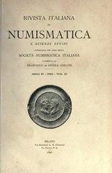 Rivista italiana di numismatica