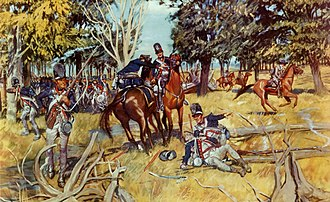 1st Infantry Regiment (United States) - Banks of the Maumee. Anthony Wayne commanded the Army, enlarged in 1792 and formed into the Legion (now 1st and 3d Infantry Regiments). The Legion advanced into Indian country and on August 20, 1794 routed Indian forces.