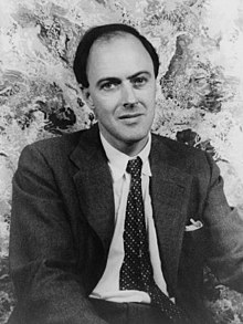 Image of Roald Dahl from Wikipedia