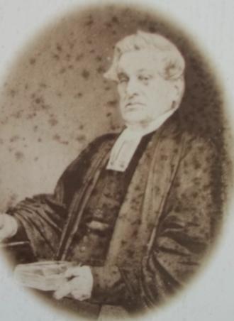St. George's (Round) Church, Halifax, Nova Scotia - Reverend Robert Fitzgerald Uniacke - Rector (1825-1870)