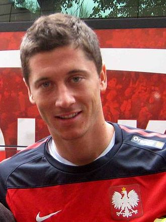 UEFA Euro 2016 qualifying - Poland's Robert Lewandowski scored 13 goals in UEFA Euro 2016 qualifying round, equaling David Healy's record in 2008 for most goals in a qualifying campaign.