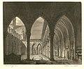 Robert le Diable, Pierre-Luc Charles Cicéri, esquisse acte III, tab. 2 - 1831.jpg