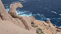 Pearson Island-Description-Rock formation