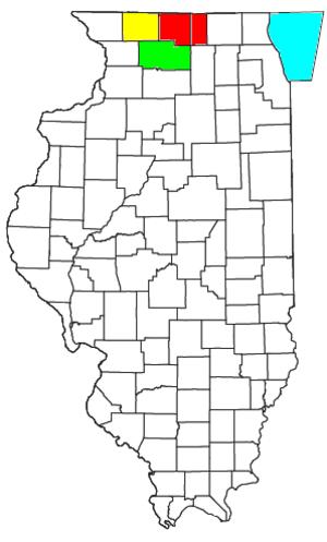 Rockford metropolitan area, Illinois - Image: Rockford Freeport Rochelle CSA