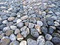 Rocks under water in a fountain.JPG