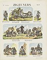 Roma en Sinti Zigeuners (titel op object) Meijer's prenten (serietitel op object), RP-P-OB-202.354.jpg