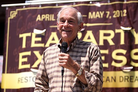Ron Paul at 2012 Tea Party Express Rally Ron Paul (7004532790).jpg