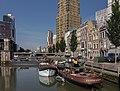 Rotterdam, zicht vanaf Jan Kuitenbrug richting de Wijnhaven foto8 2015-08-02 10.03.jpg