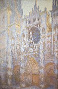 Rouen Cathedral, West Façade by Claude Monet (4990896019).jpg