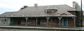 Rouses Point D&H Railroad Station - Trackside.jpg