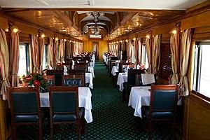 Rovos Rail - Image: Rovos Rail Dining Car