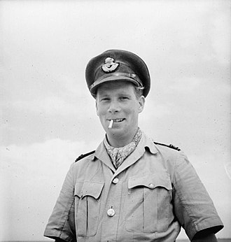 RAF Krendi - Squadron Leader Billy Drake, from June until November 1943 he led the Krendi fighter Wing in Malta, with whom he scored the last of his 20 confirmed victories