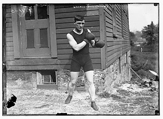 Reuben Charles Warnes - Image: Ruben Warnes in 1911 (Middleweight)