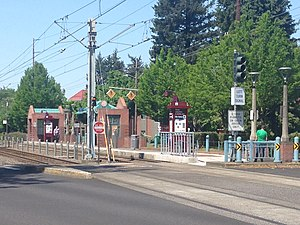 Ruby Junction/East 197th Avenue MAX Station - Image: Ruby Junction East 197 Avenue MAX Station