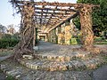 Ruskin Park, Lambeth, London -covered walkway-24March2012.jpg