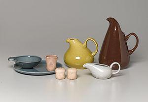 Russel Wright - Tableware, American Modern Pattern, Designed 1937 Brooklyn Museum