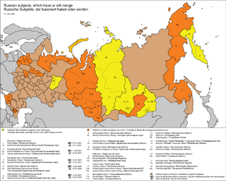 Federal subjects of Russia - Federal subjects of Russia
