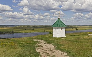 Ryazan Oblast - The Oka River near Konstantinovo in Rybnovsky District of Ryazan Oblast