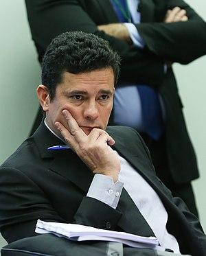 Sérgio Moro - Image: Sérgio Moro em comissão de combate à corrupção