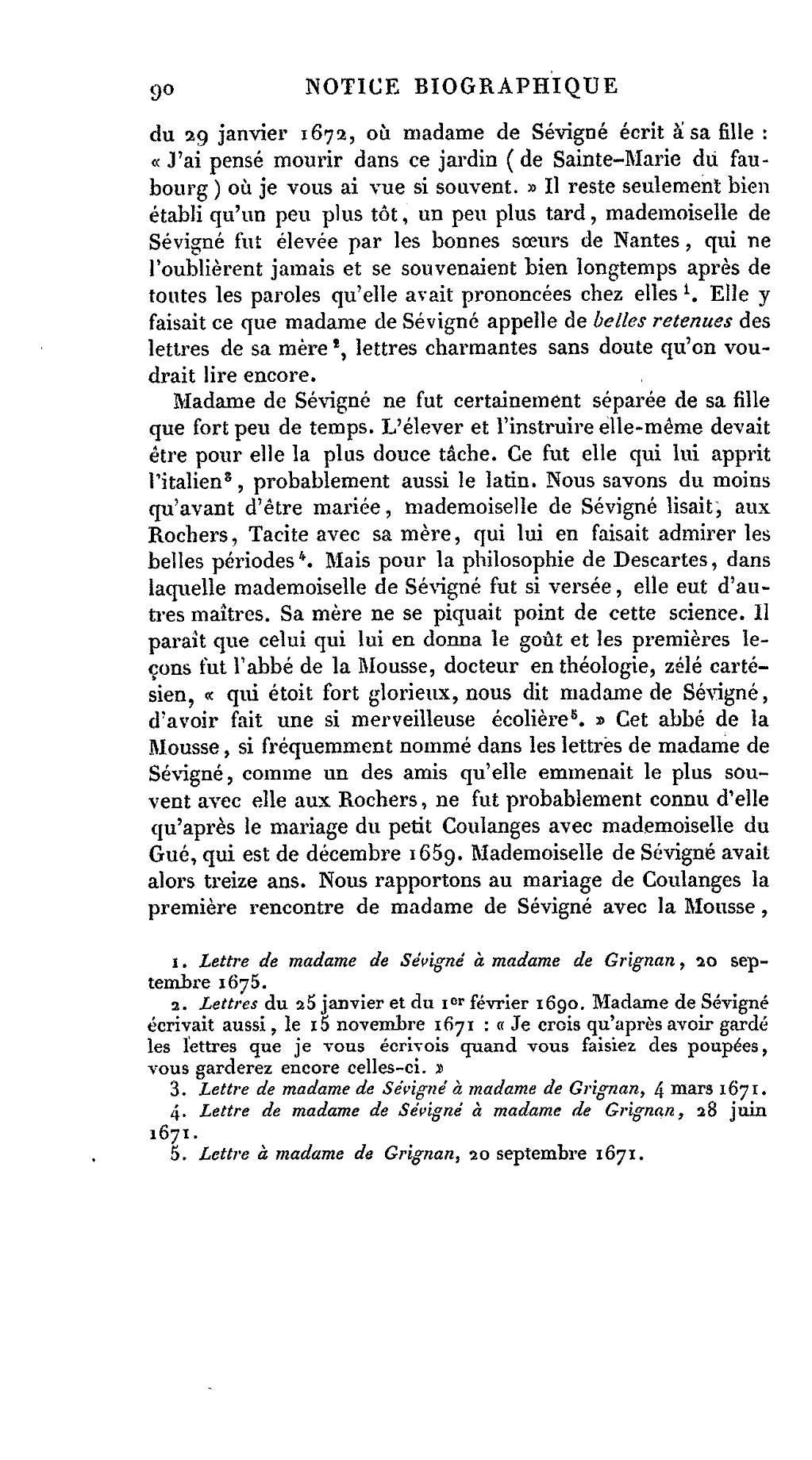 lettre de madame de grignan a sa mere