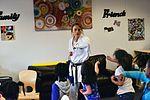 SAC gets karate lesson 161209-F-CJ211-007.jpg