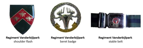 SADF Regiment Vanderbijlpark insignia