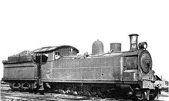 South African Class 13 4-8-0TT - SAR Class 13, c. 1912