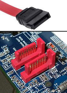 Câble et port SATA