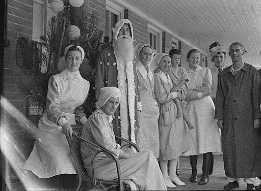 SLNSW 25903 RPA Hospital Christmas
