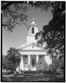 SOUTH (FRONT) ELEVATION - Edisto Island Presbyterian Church, Edisto Island, Charleston County, SC HABS SC,10-EDIL,3-3.tif