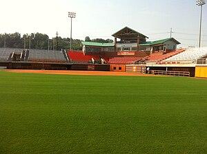Tennessee Volunteers softball - Sherri Parker Lee Stadium