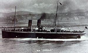 SS Tynwald (1891) - Image: SS Tynwald leaves Douglas