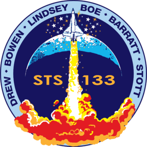 Eric Boe - Image: STS 133 patch